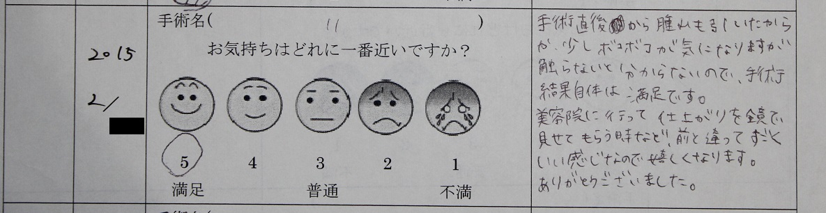 頭蓋形態修正術(頭蓋レジン) ,  額脂肪移植_d0092965_512857.jpg