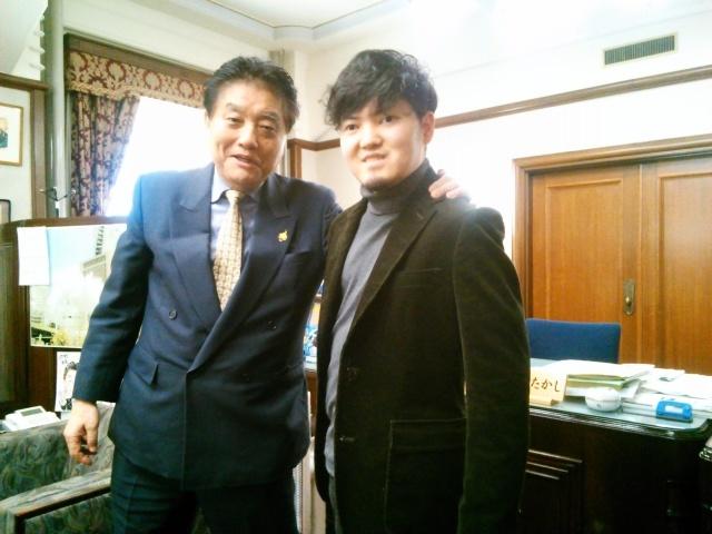"""河村たかし名古屋市長さんに """"人権週間""""の個展のご報告に行ってまいりました。_d0253466_10394692.jpg"""