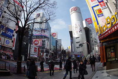 2月23日(月)の渋谷109前交差点_b0056983_11262655.jpg