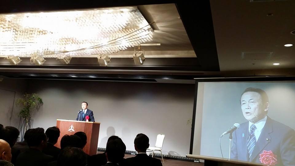 高野参議院議員初の国政報告会に出席!_c0186691_99396.jpg