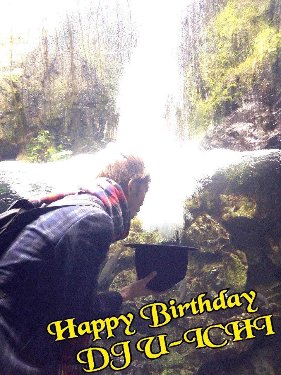 Happy Birthday! DJ U-ICHI!_f0182998_23085528.jpg