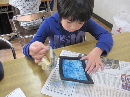 長尾教室 ~石こう版画~_f0215199_19405951.jpg