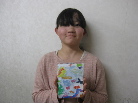 長尾教室 ~石こう版画~_f0215199_20134674.jpg