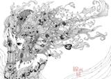 2015/2/10-15線画展 [工藤沙由美、yuki、押川 裕輝、中村美帆]_e0091712_16462453.jpg