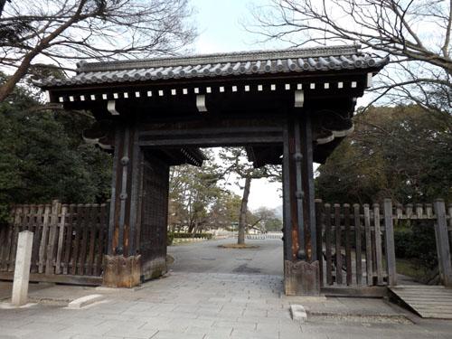 梅が始まった 京都御苑_e0048413_21274886.jpg