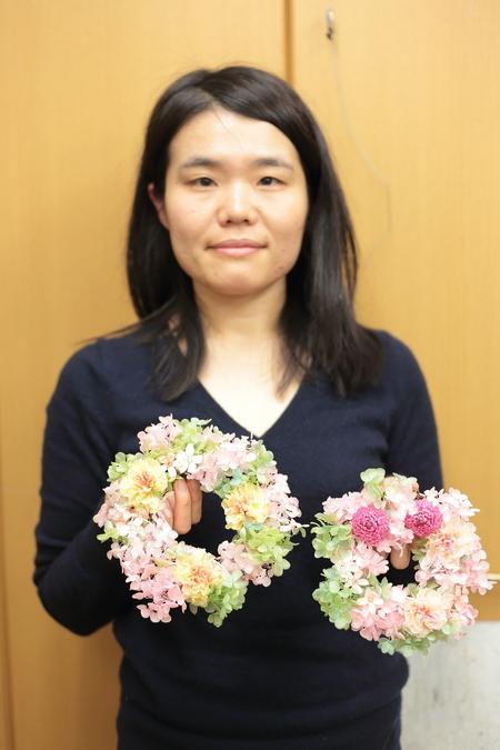 2月22日単発プリザレッスンのご報告 次回3月1日と25日、25日は生花も同時開催です_a0042928_22155879.jpg