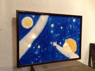 よこたひさこ個展「星になれたら」開催_c0328441_15542711.jpg