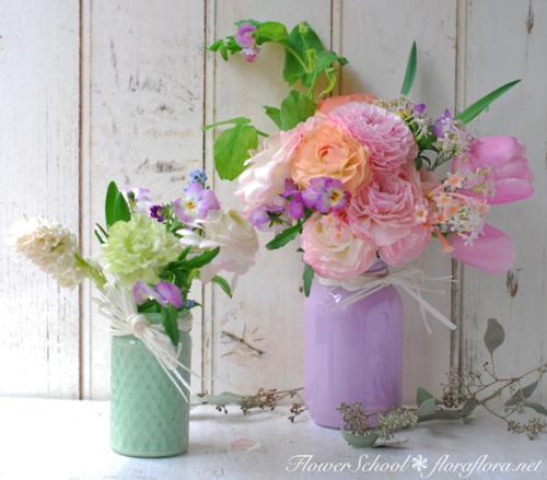 ラナンキュラスの国へようこそ 2月の花教室から 東京目黒不動前Flora*2ちいさな花の教室_a0115684_18095227.jpg