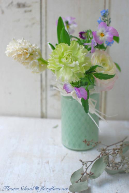 ラナンキュラスの国へようこそ 2月の花教室から 東京目黒不動前Flora*2ちいさな花の教室_a0115684_18292591.jpg