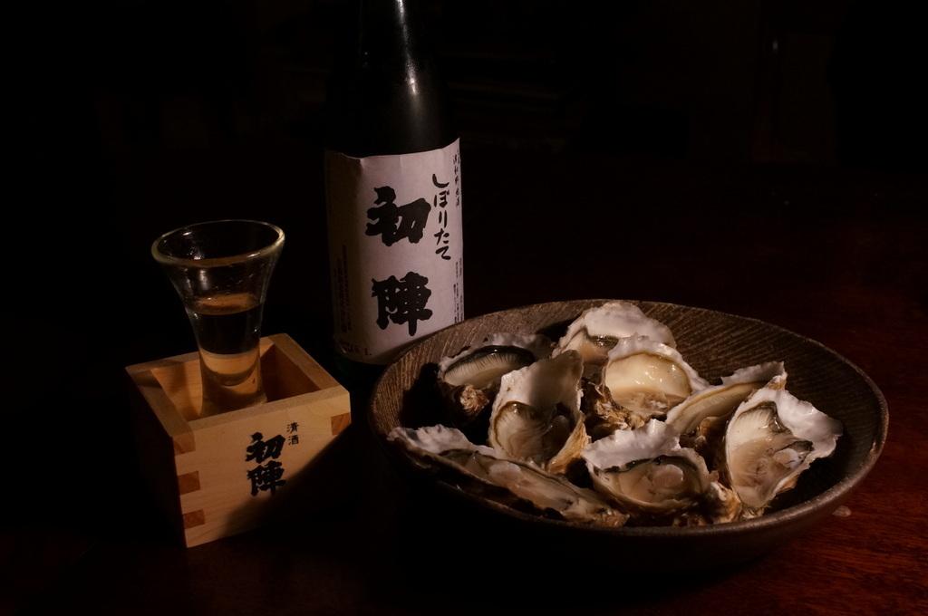 今年の新酒、津和野古橋酒造「初陣」_c0180686_18070365.jpg