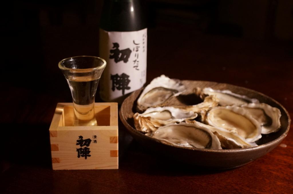 今年の新酒、津和野古橋酒造「初陣」_c0180686_18080881.jpg