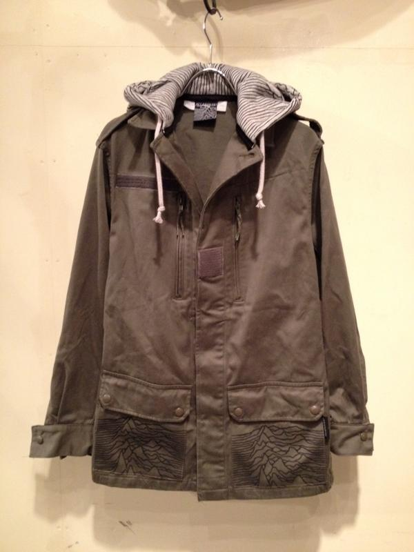 Hooded French military F-2 Jacket / ALL OVER printed Ver._f0126931_17203574.jpg