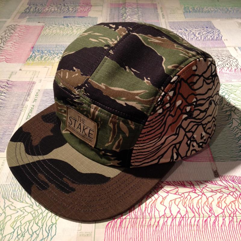 ALLAROUND x THE STAKE  COLLABORATION (Fac-10 5PANEL CAP)_f0126931_18309100.jpg