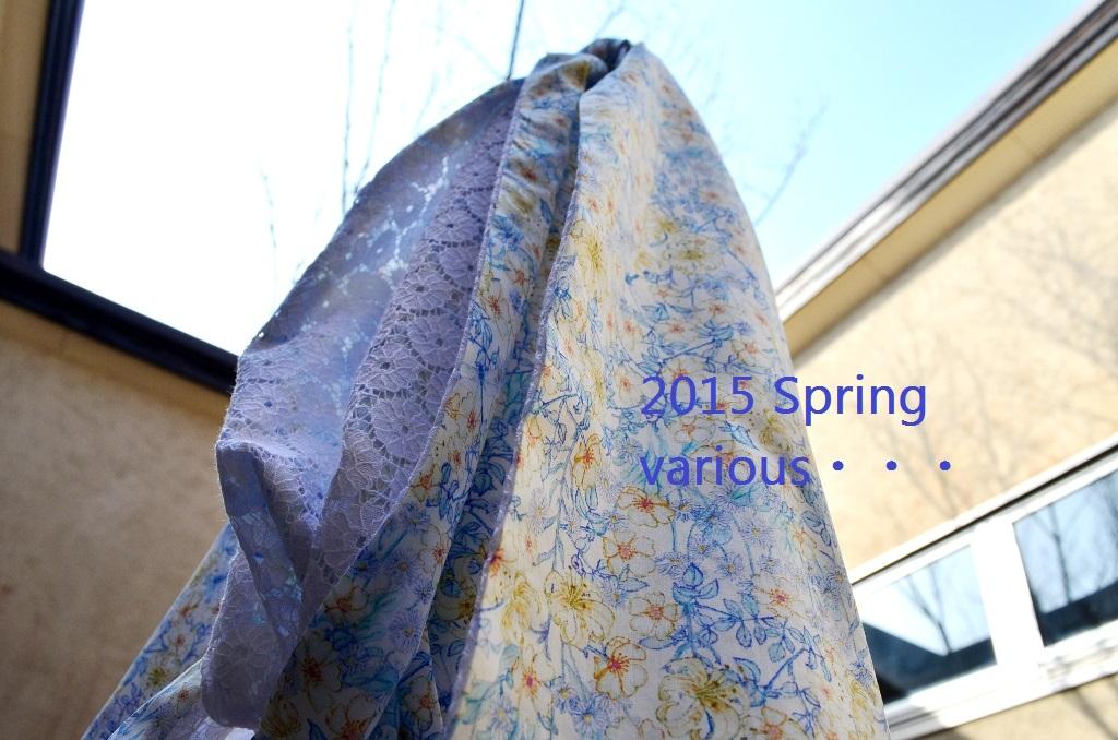 """2015 Spring various・・・春いろいろ No.2""_d0153941_15101619.jpg"