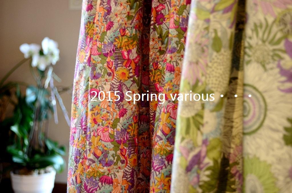 """2015 Spring various・・・春いろいろ No.2""_d0153941_1513916.jpg"
