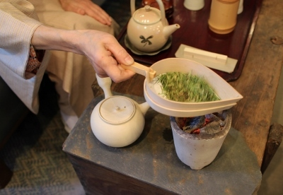 高木剛 陶展 焙じ茶のお茶会_a0279848_15144637.jpg