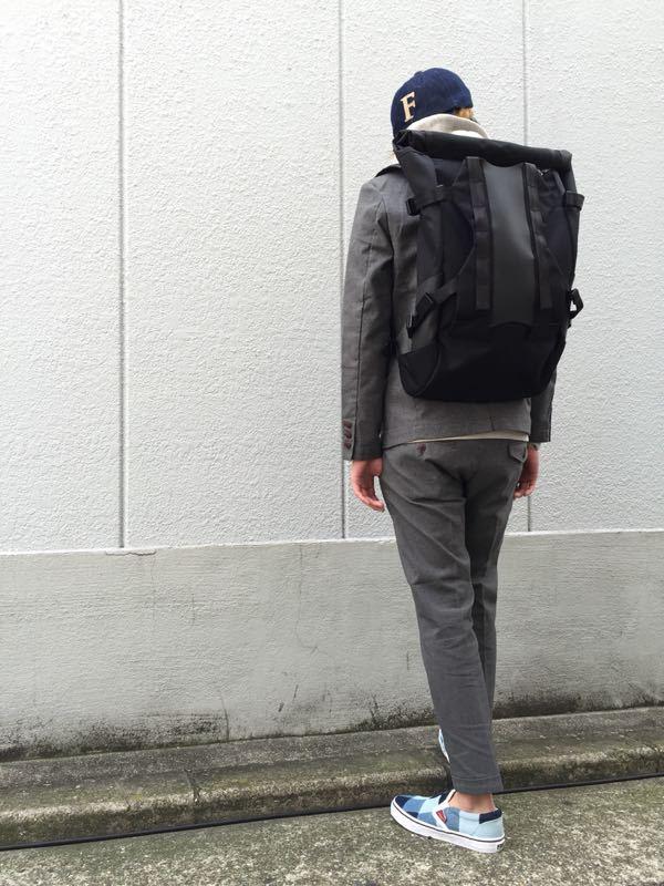 """Put on """"Calm Jacket & Pants"""" ①_d0227059_1821091.jpg"""