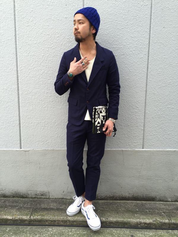 """Put on """"Calm Jacket & Pants"""" ①_d0227059_1821391.jpg"""