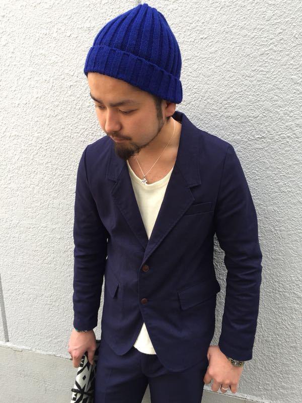 """Put on """"Calm Jacket & Pants"""" ①_d0227059_1821429.jpg"""