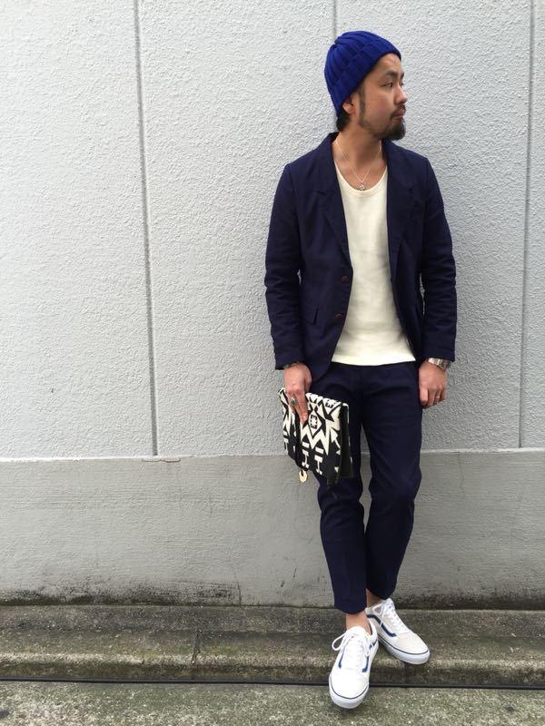 """Put on """"Calm Jacket & Pants"""" ①_d0227059_1821747.jpg"""