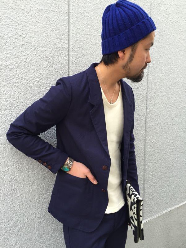 """Put on """"Calm Jacket & Pants"""" ①_d0227059_1821982.jpg"""