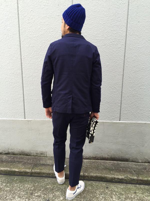 """Put on """"Calm Jacket & Pants"""" ①_d0227059_1822288.jpg"""