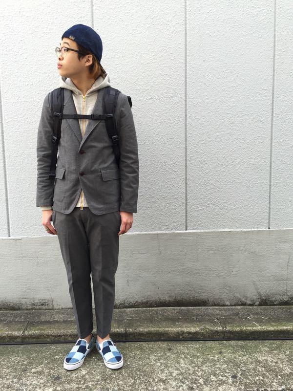 """Put on """"Calm Jacket & Pants"""" ①_d0227059_182493.jpg"""