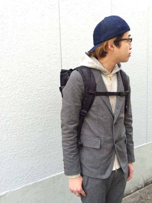"""Put on """"Calm Jacket & Pants"""" ①_d0227059_182588.jpg"""