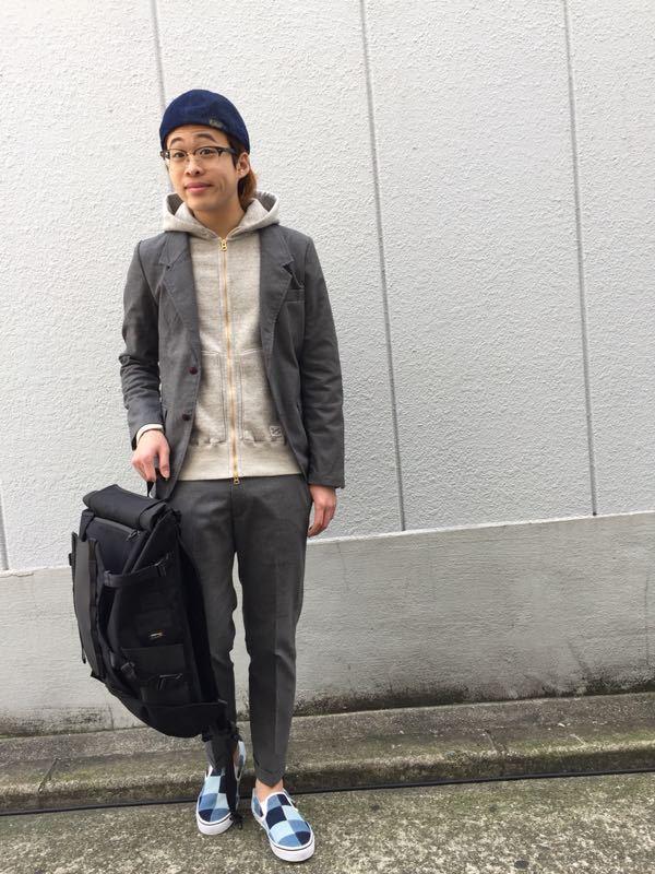 """Put on """"Calm Jacket & Pants"""" ①_d0227059_182786.jpg"""
