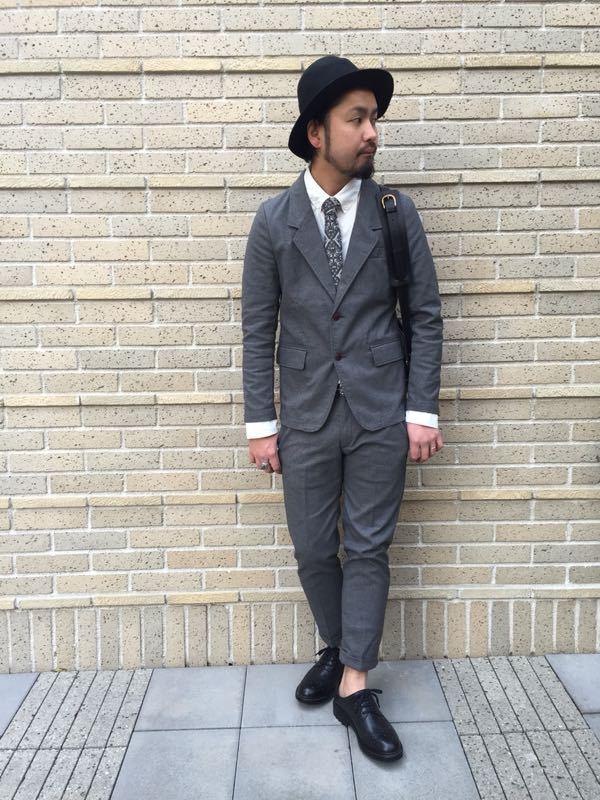 """Put on """"Calm Jacket & Pants"""" ②_d0227059_22352693.jpg"""
