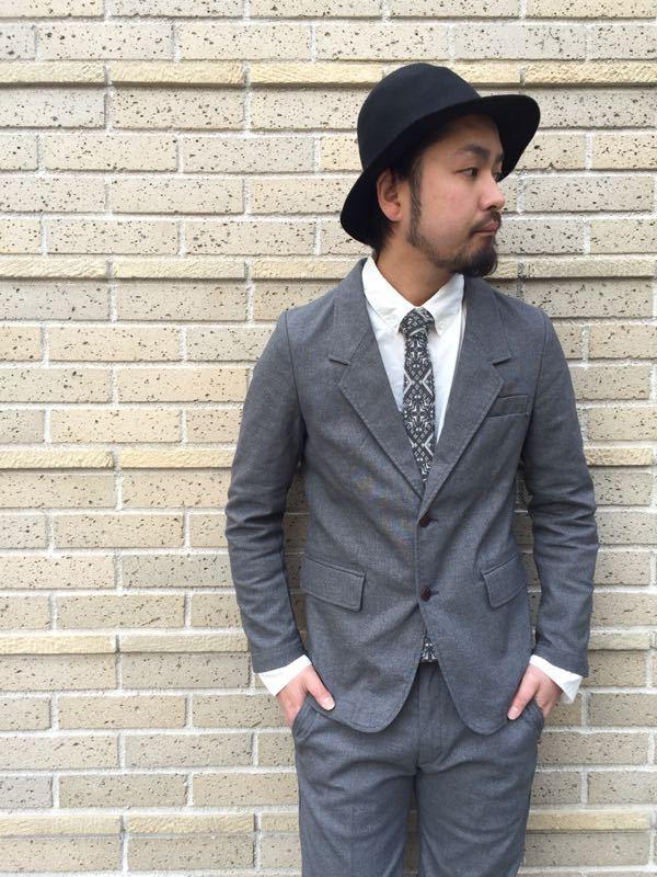 """Put on """"Calm Jacket & Pants"""" ②_d0227059_22352791.jpg"""