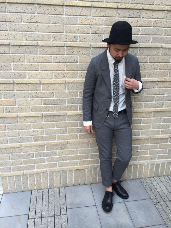 """Put on """"Calm Jacket & Pants"""" ②_d0227059_22352863.jpg"""