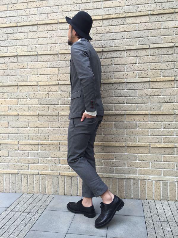 """Put on """"Calm Jacket & Pants"""" ②_d0227059_22353010.jpg"""