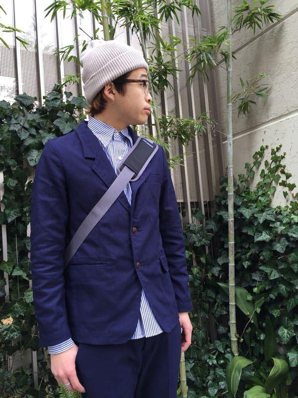 """Put on """"Calm Jacket & Pants"""" ②_d0227059_22353113.jpg"""