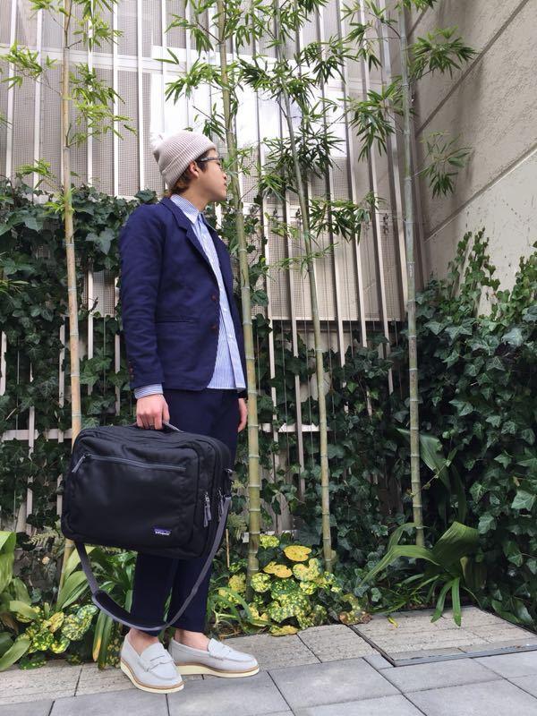 """Put on """"Calm Jacket & Pants"""" ②_d0227059_22353261.jpg"""