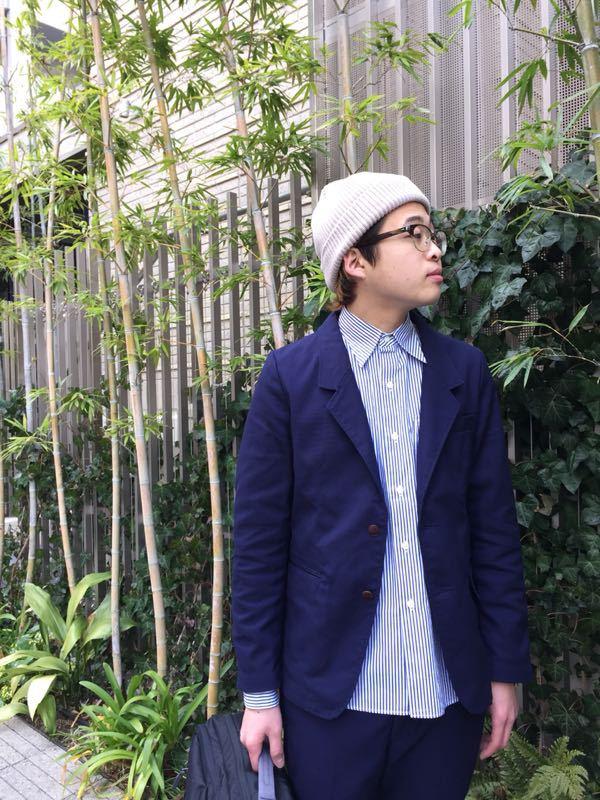 """Put on """"Calm Jacket & Pants"""" ②_d0227059_22353460.jpg"""