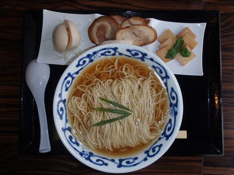 桜木製麺所 桜木特製鶏醤油中華そば_b0074601_21343631.jpg