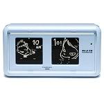 奈良美智: Nara clock WALK ON mini(blue)_c0214605_1617319.jpg