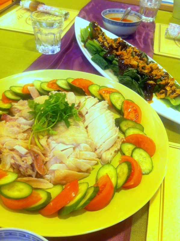 料理教室・・・シンガポール料理「海南チキンライスなど」_f0141419_10324012.jpg