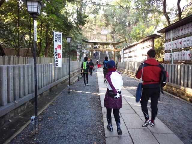 初走り 新春初詣サイクリング_d0174462_17514037.jpg