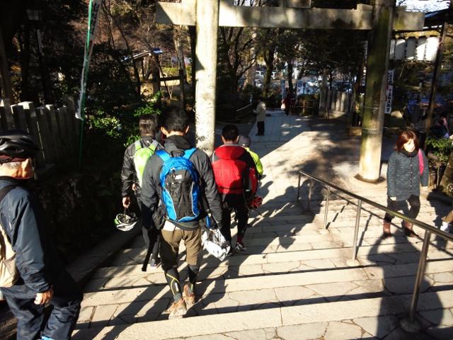 初走り 新春初詣サイクリング_d0174462_1752940.jpg