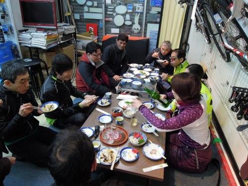 初走り 新春初詣サイクリング_d0174462_1756155.jpg