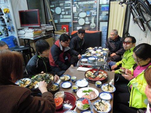 初走り 新春初詣サイクリング_d0174462_17571020.jpg