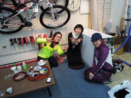 初走り 新春初詣サイクリング_d0174462_17574941.jpg