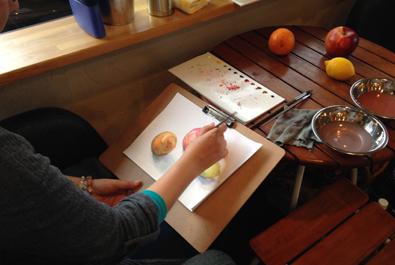 2015年2月28日(土) タマコチ美術クラブ「リアルぬり絵に挑戦」_f0224207_10593788.jpg