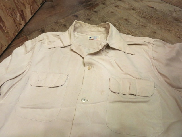 2/28(土)入荷!50'S Van Heusen レーヨン ギャバシャツ!_c0144020_15242100.jpg