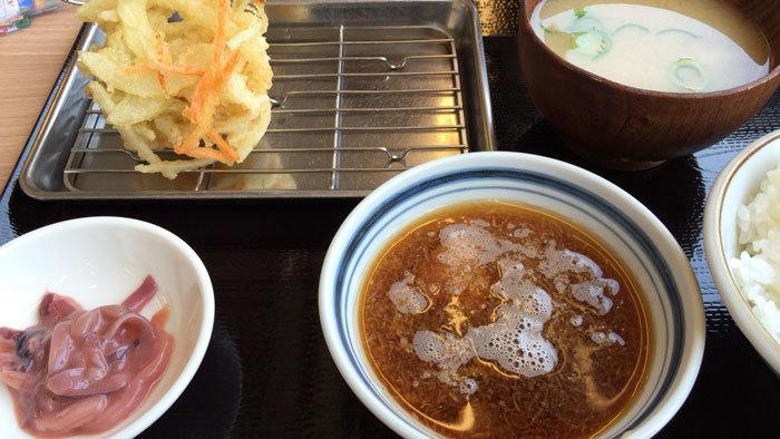 天ぷら定食 まきの @  西神戸店_e0024756_08143773.jpg