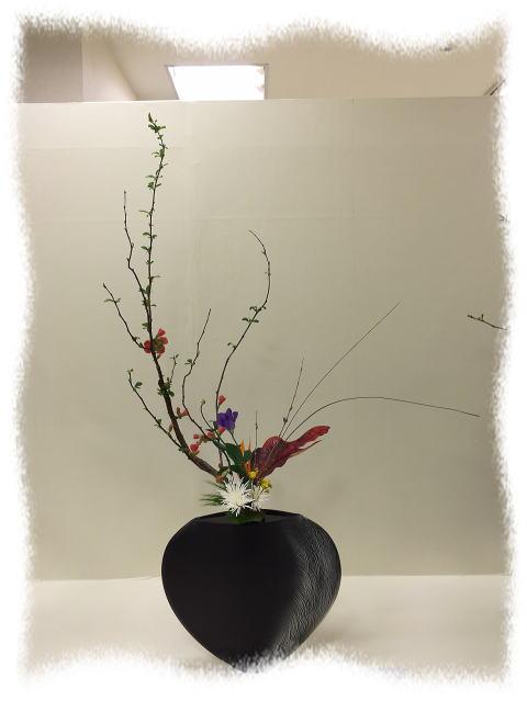 北日本いけばな展 2_b0189573_16175085.jpg