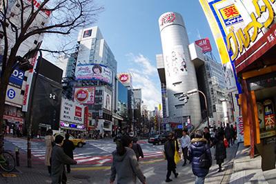 2月27日(金)の渋谷109前交差点_b0056983_10483785.jpg