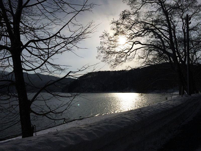 野尻湖の朝♪_f0051306_12281246.jpg
